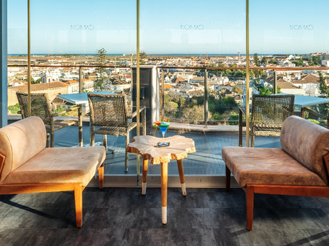 O novo rooftop do Algarve é perfeito para ver as vistas e beber um copo