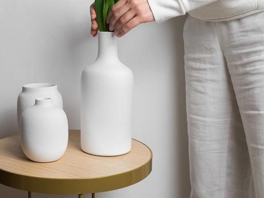 Este casal criou no confinamento uma marca de louças contemporâneas e sustentáveis