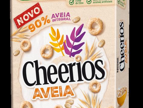 Chegaram os novos (e deliciosos) cereais Cheerios aveia da Nestlé