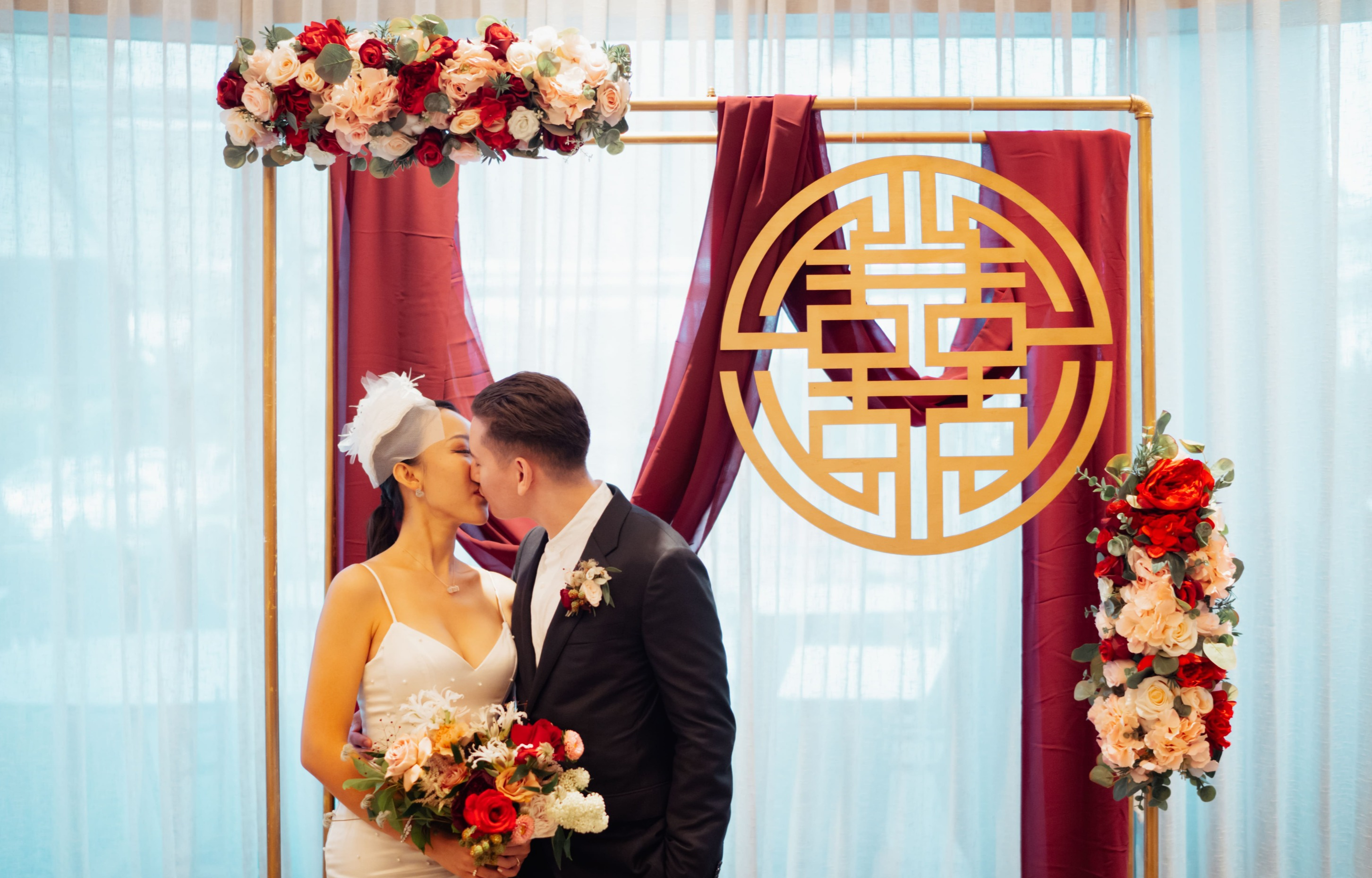 singapore wedding arch