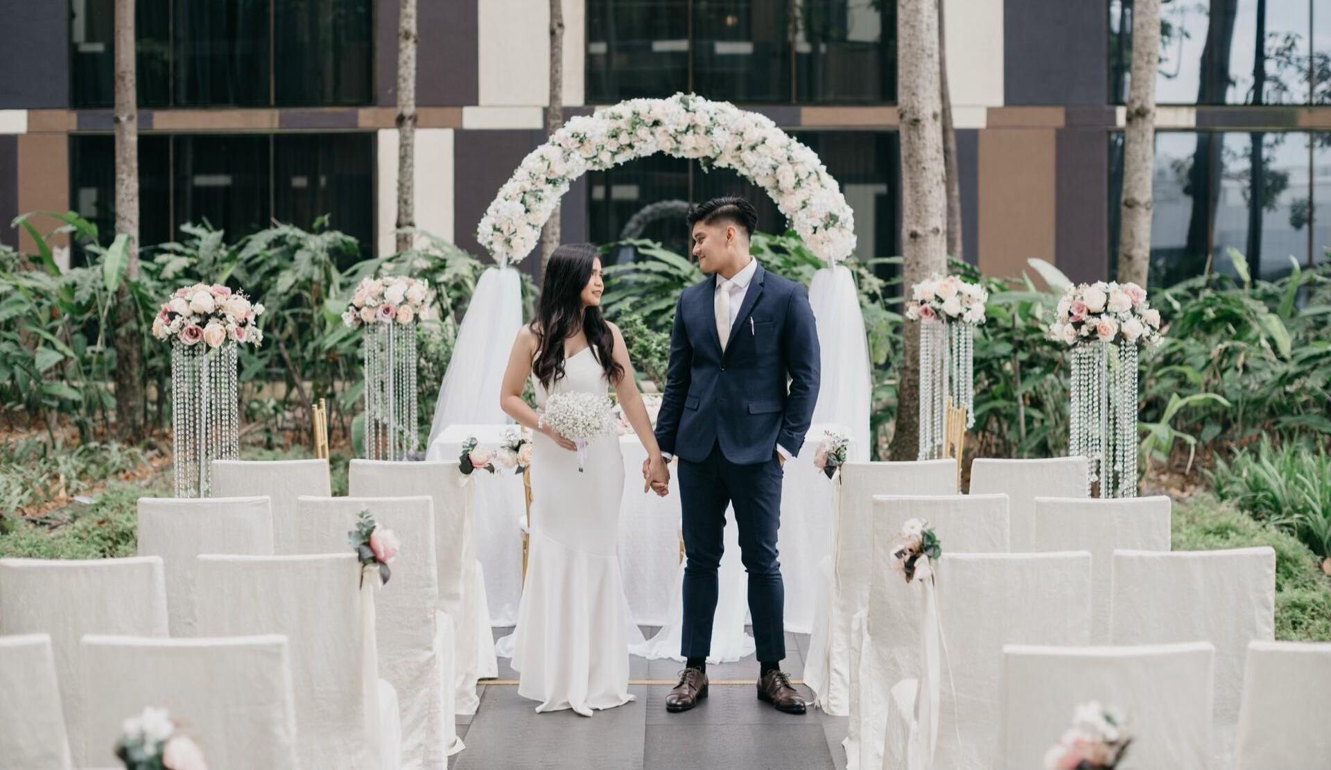 wedding floral sg