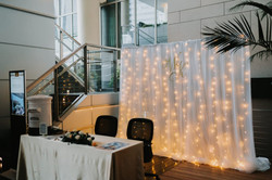 wedding decor backdrop