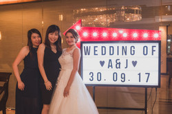 cheap wedding decor sg
