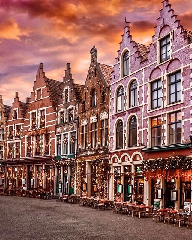 Brugge, Belgium is the cutest fairytale