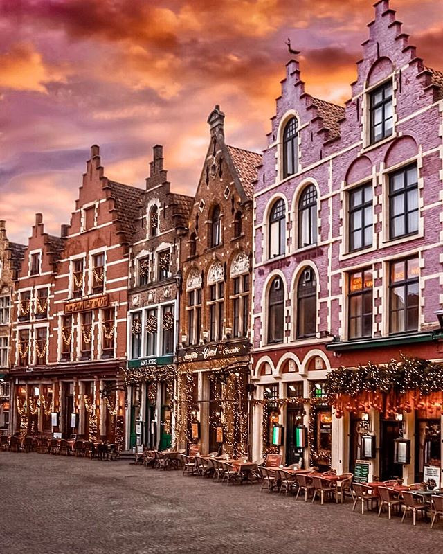 Brugge, Belgium is the cutest fairytale