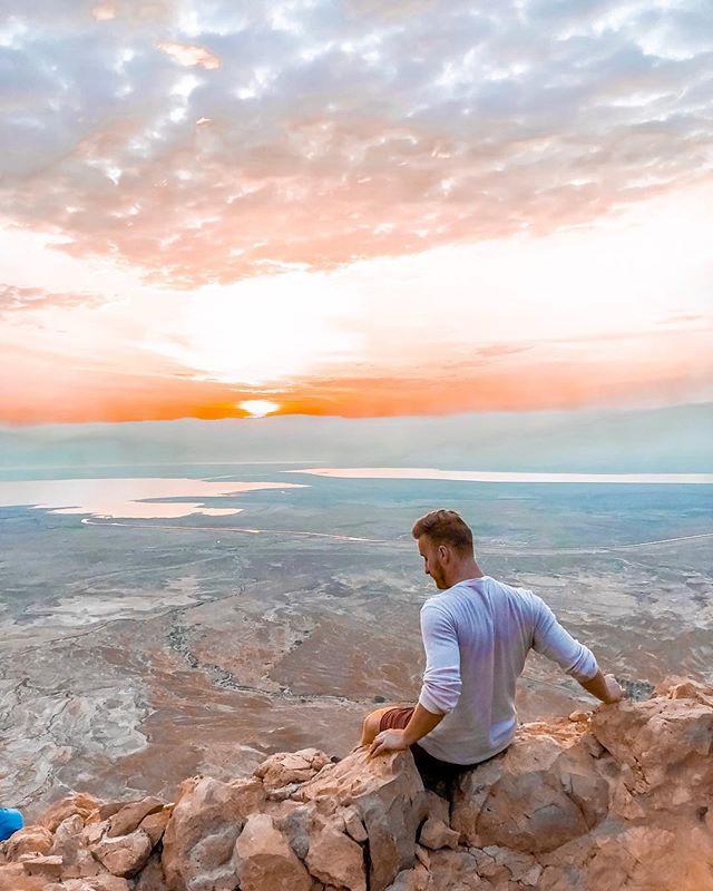 Living for these Israel sunrises. Waking