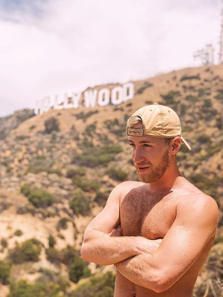 Hollywood is place where the stars twink