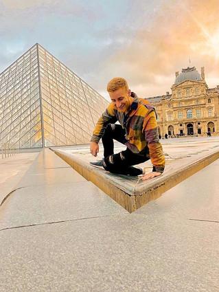 Adventuring the art in Paris was my favo