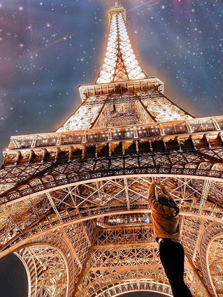 If you haven't seen the Eiffel Tower at