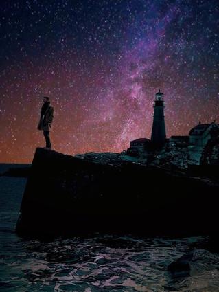 📍Portland, Maine_•_•_•_#nightsky #starp