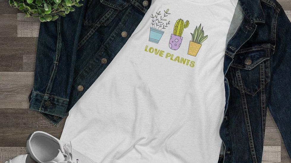 Love Plants Organic Women's Tee