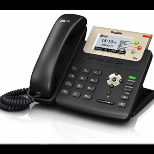 APARELHO TELEFÔNICO DE IP MODELO - SIP T27P E2 - COR PRETO - YEALINK