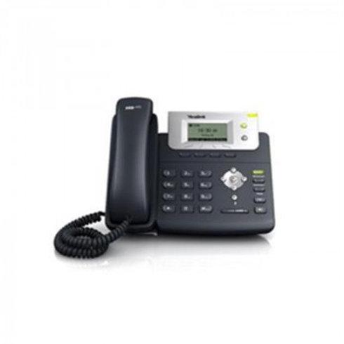 APARELHO TELEFÔNICO IP GIGA MODELO SIP T21P - COR PRETO - YEALINK