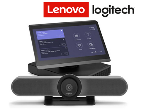 Lenovo ThinkSmart Hub 500 com Logitech MeetUp