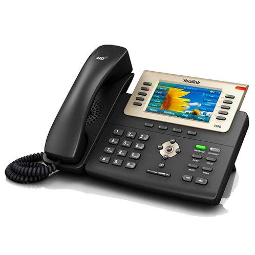 APARELHO TELEFÔNICO IP GIGA MODELO SIP T29G - COR PRETO - YEALINK
