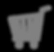 Icono de la canasta - Gris