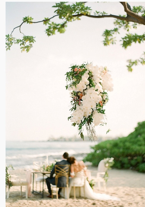 A Sweet Seaside Inspiration Wedding