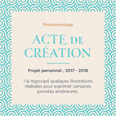 David Da Cruz - Cadre - Acte de Creation