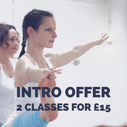 Piates and Yoga Intro Offer