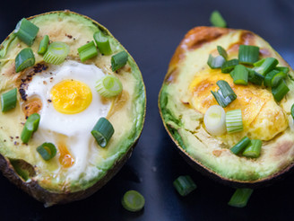 Baked Avocado & Egg