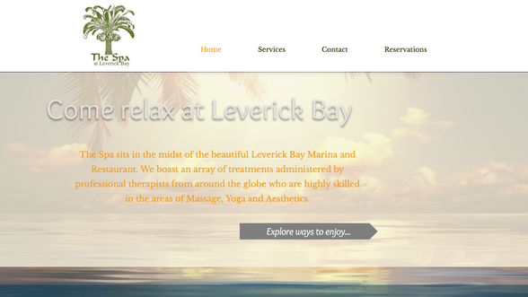 The Spa at Leverick Bay