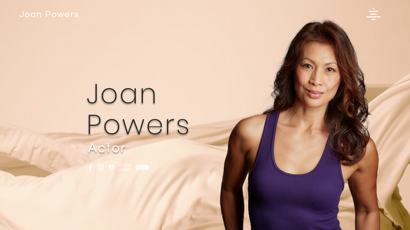 Joan Powers, Actor