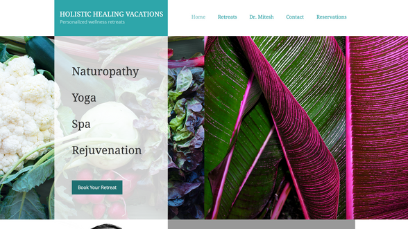 Holistic Healing Vacations