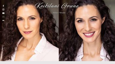 Keikilani Grune, Actor/Model