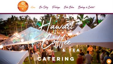 Hawaii Coffee & Tea Catering