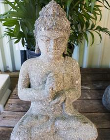 "16 - 18"" Stone Buddha"