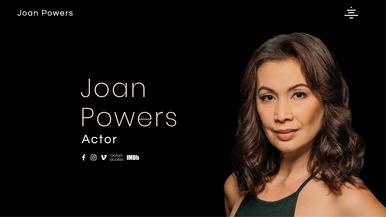 Joan Powers, Actor