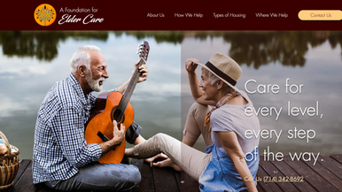 A Foundation for Elder Care