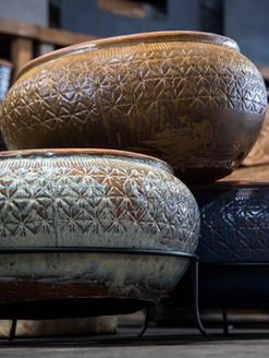 Rustic Hose Pot - #1190