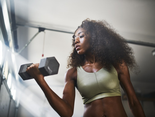 5 THINGS TO REMEMBER IF YOU'RE WEIGHT TRAINING