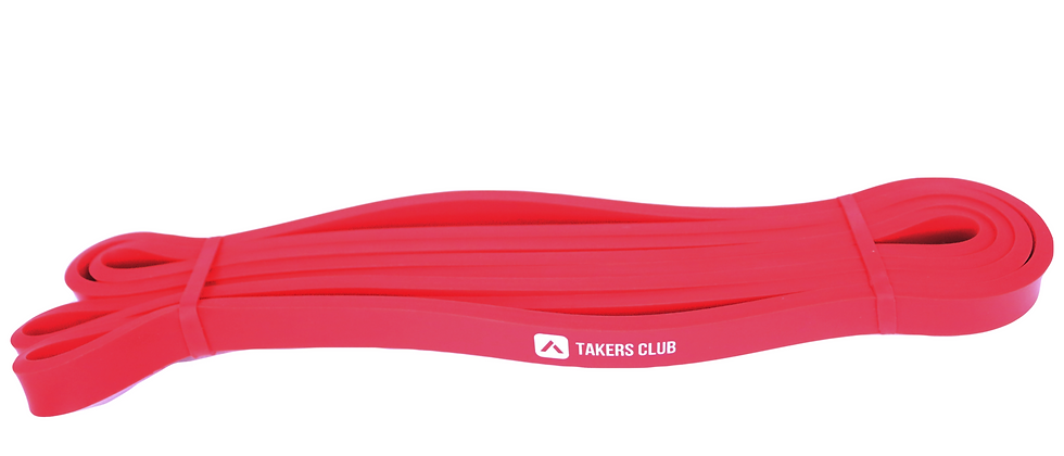 RED (Small) Long Pull Up Stretch Bands