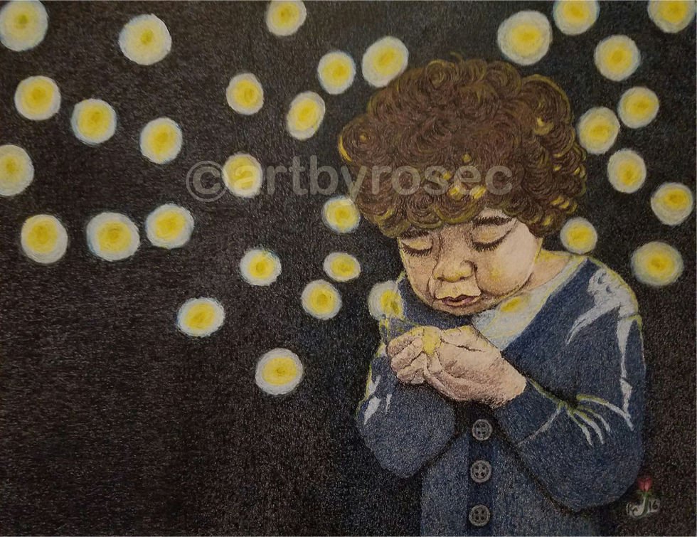 BOY AND HIS FIRE FLIES