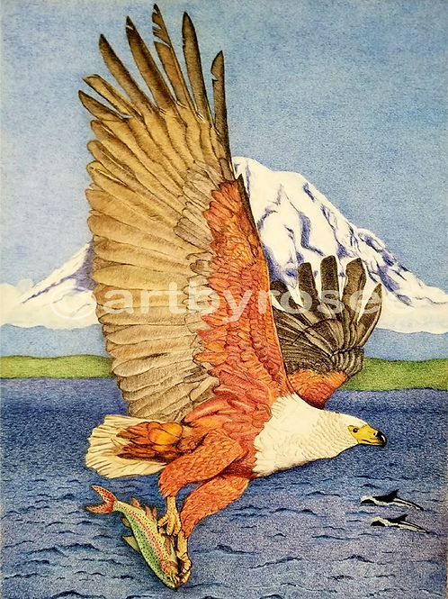 EAGLE AND HIS FISH