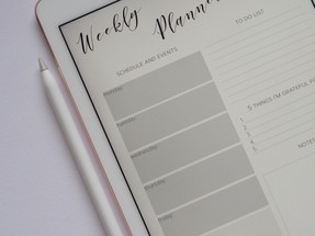 Write your to-do list for next week before finish work for the week