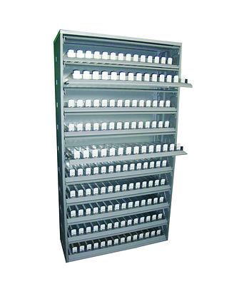Шкаф-диспенсер для торговли сигаретами