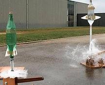base de lancement fusée à eau