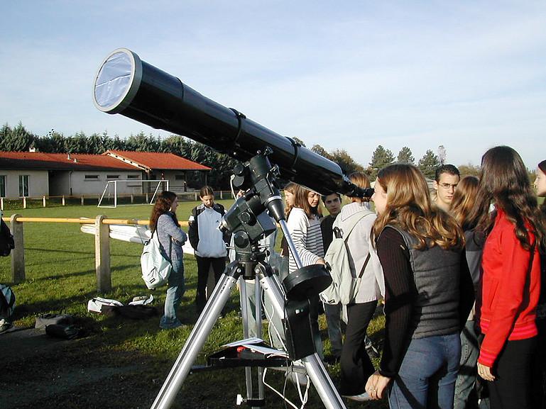 Observations solaires tout public