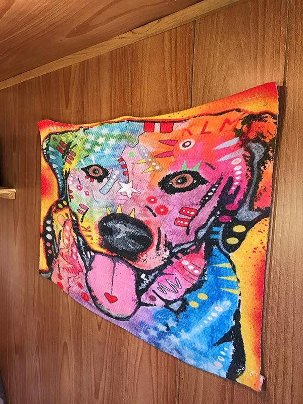 Cute doggie cabin decor