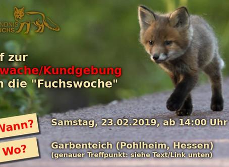 """Bürger protestieren gegen grausame """"Fuchswochen"""""""