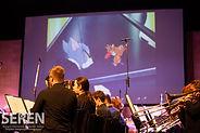 University of Birmingham Brass Band at UniBrass 2019 (c) Seren Bangor