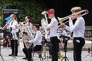 University of York Brass Band Quintet - UniBrass 2021 (c) Joy Newbould