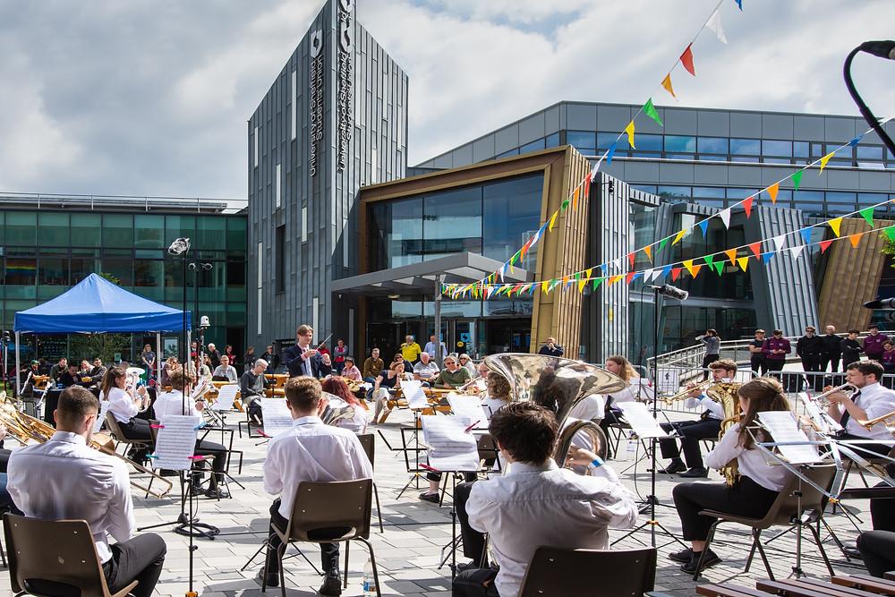 University of Sheffield perform at UniBrass 2021
