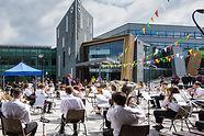University of Sheffield Brass Band at UniBrass 2021 (c) Joy Newbould
