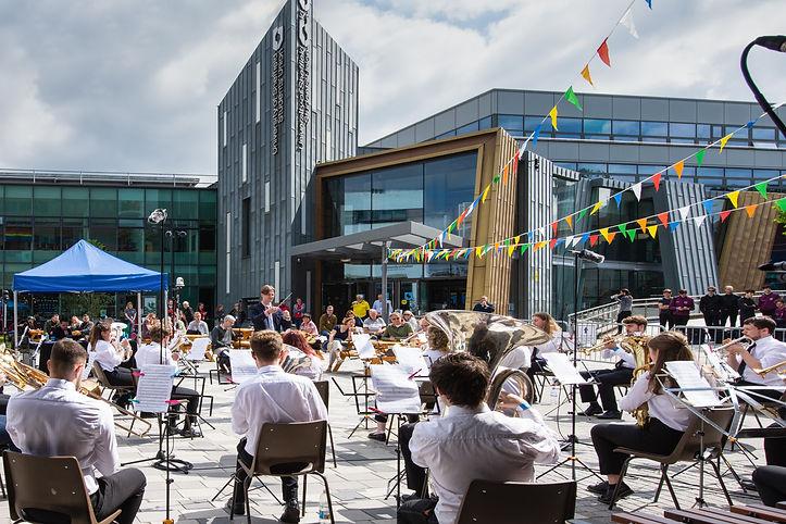 University of Sheffield at UniBrass 2021 - (c) Joy Newbould