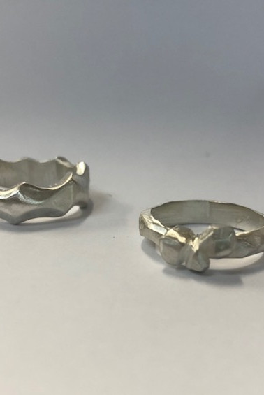 Silver casting with wax
