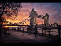 The Visitor at Tower Bridge (Com)